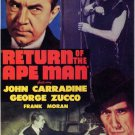 Return Of The Ape Man (1944) - Bela Lugosi  DVD