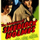 Sherlock Holmes : The Adventures Of Sherlock Holmes (1939) - Basil Rathbone  DVD