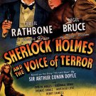 Sherlock Holmes : And The Voice Of Terror (1942) - Basil Rathbone  DVD