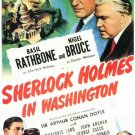 Sherlock Holmes : In Washington (1943) - Basil Rathbone  DVD