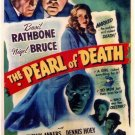 Sherlock Holmes : And The Pearl Of Death (1944) - Basil Rathbone  DVD