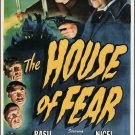 Sherlock Holmes : And The House Of Fear (1945) - Basil Rathbone  DVD