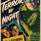 Sherlock Holmes : And The Terror By Night (1946) - Basil Rathbone  DVD