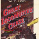 The Great Locomotive Chase (1956) - Fess Parker  DVD