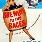 She Went To The Races (1945) - James Craig  DVD