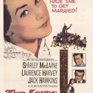 Two Loves (1961) - Shirley MacLaine  DVD