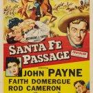 Santa Fe Passage (1955) - John Payne  DVD