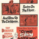 Come Spy With Me (1967) - Troy Donahue  DVD