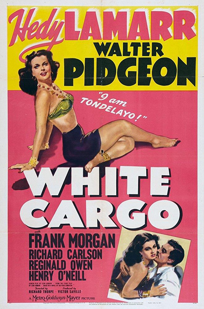 White Cargo (1942) - Hedy Lamarr  DVD