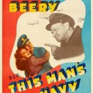 This Man´s Navy (1945) - Wallace Beery  DVD