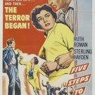 Five Steps To Danger (1957) - Sterling Hayden  DVD