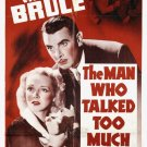 The Man Who Talked Too Much (1940) - George Brent  DVD
