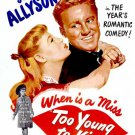 Too Young To Kiss (1951) - Van Johnson  DVD