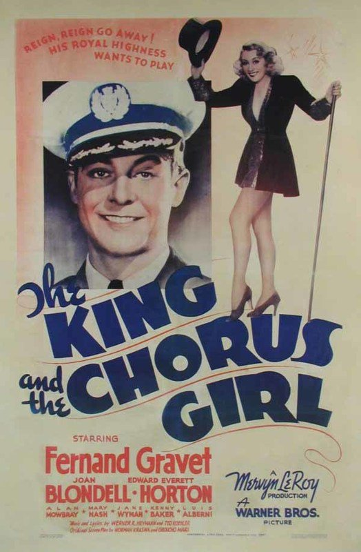 The King And The Chorus Girl (1937) - Joan Blondell  DVD