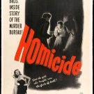 Homicide (1949) - Robert Douglas  DVD