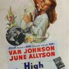 High Barbaree (1947) - Van Johnson  DVD