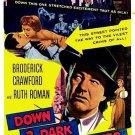 Down Three Dark Streets (1954) - Broderick Crawford  DVD
