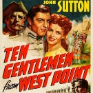 Ten Gentlemen From West Point (1942) - George Montgomery  DVD