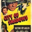 City Of Shadows (1955) - Victor McLaglen  DVD