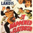 It Happened In Flatbush (1942) - Llody Nolan  DVD