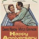 Happy Anniversary (1959) - David Niven  DVD