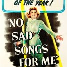 No Sad Songs For Me (1950) - Margaret Sullivan  DVD