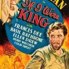 If I Were King (1938) - Basil Rathbone  DVD