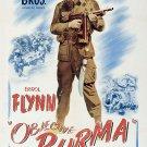 Objective Burma (1945) - Errol Flynn  DVD