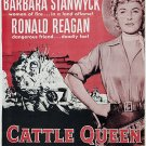 Cattle Queen Of Montana (1954) - Barbara Stanwyck  DVD