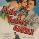 Philo Vances Gamble (1947) - Alan Curtis  DVD