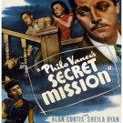 Philo Vance´s Secret Mission (1947) - Alan Curtis  DVD