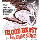Night Caller AKA Blood Beast From Outer Space (1965) - John Saxon  DVD