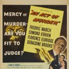 An Act Of Murder (1948) - Frederic March  DVD
