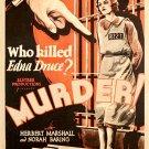 Murder (1930) - Alfred Hitchcock  DVD