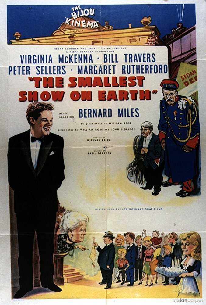 The Smallest Show On Earth (1957) - Bill Travers  DVD