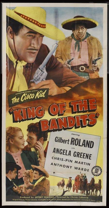 Cisco Kid : King Of The Bandits (1947) - Gilbert Roland  DVD