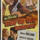 Cisco Kid : King Of The Bandits (1947) - Gilbert Roland  DVD