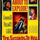 Ten Seconds To Hell (1959) - Jeff Chandler  DVD