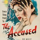 The Accused (1949) - Robert Cummings  DVD