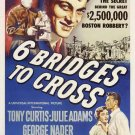 Six Bridges To Cross (1955) - Tony Curtis  DVD