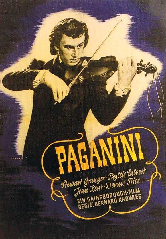 The Magic Bow (1946) - Stewart Granger  DVD