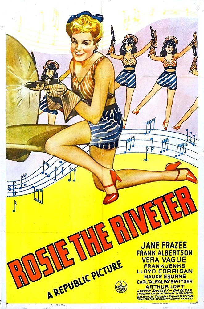 Rosie The Riveter (1944) - Jane Frazee  DVD