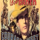 Courage Of The West (1937) - Bob Baker  DVD