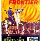 Flaming Frontier (1958) - Bruce Bennett  DVD