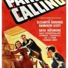 Paris Calling (1941) - Randolph Scott  DVD