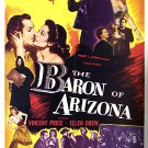 The Baron Of Arizona (1950) - Vincent Price  DVD