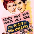The Toast Of New Orleans (1950) - Mario Lanza  DVD