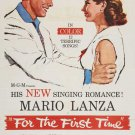 For The First Time (1959) - Mario Lanza  DVD