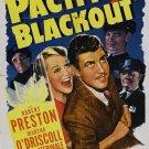 Pacific Blackout (1941) - Robert Preston  DVD