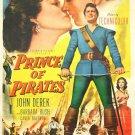 Prince Of Pirates (1953) - John Derek  DVD